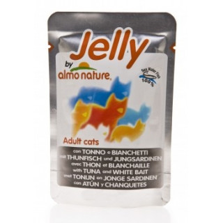 Almo Nature Jelly Cat Tuna&Sole Паучи Тунец и Камбала в Желе для кошек