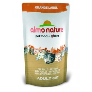 Almo Nature Orange label Cat Chicken