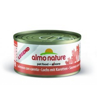 Almo Nature Legend Adult Cat Salmon&Carrot Консервы для Кошек с Лососем и Морковью